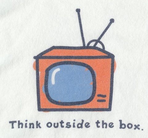 Outside The Box T-Shirt Graphic, c. Life is Good Shirts